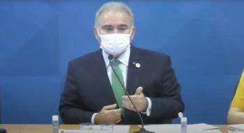 O evento acontece no auditório do Ministério da Saúde, em Brasília (DF).