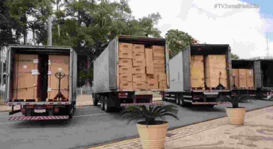 Covid-19: Pernambuco recebe freezers, monitores eletrônicos e outros equipamentos para o combate à pandemia