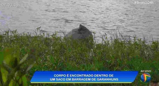 Corpo é encontrado dentro de saco, com pés e mãos amarrados, no Agreste de Pernambuco