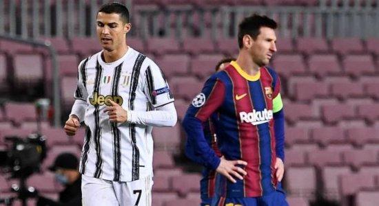 Possível reencontro entre Messi e Cristiano Ronaldo na Uefa Champions League 2021/2022 agita torcedores; veja reações