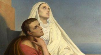 Santa Mônica e o filho, Santo Agostinho