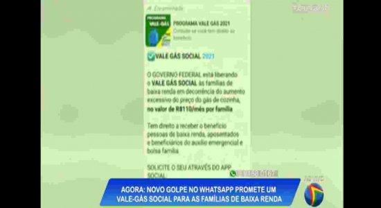 Novo golpe no Whatsapp promete vale-gás social; veja como se proteger