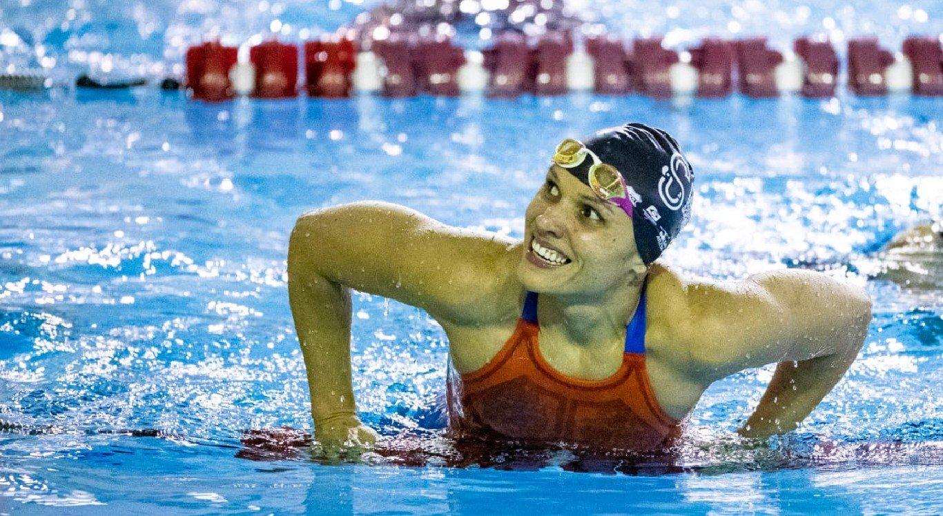 A pernambucana Maria Carolina Santiago garantiu medalha nas Paralimpíadas de Tóquio