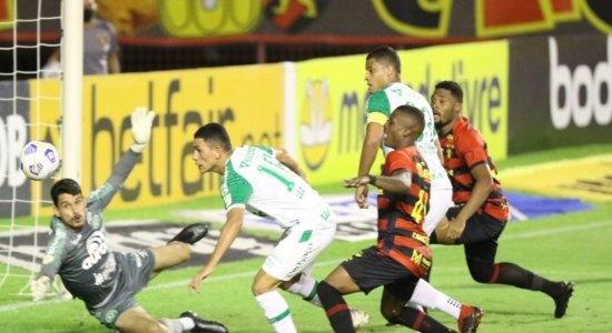 Sport não consegue abrir o marcador e fica no 0 a 0 com a Chapecoense na Ilha do Retiro