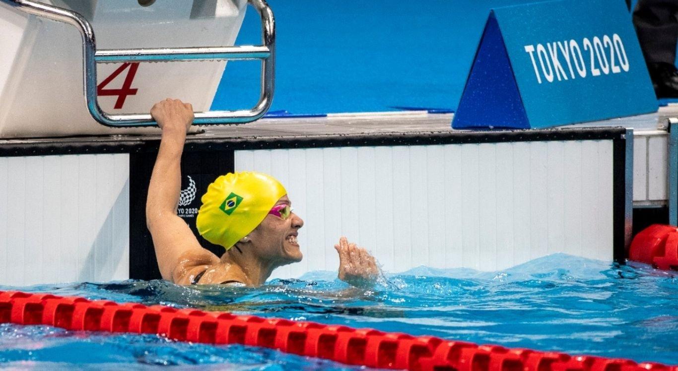 A atleta também ganhou a medalha bronze na última sexta-feira (27) nos Jogos Paralímpicos Tóquio 2020