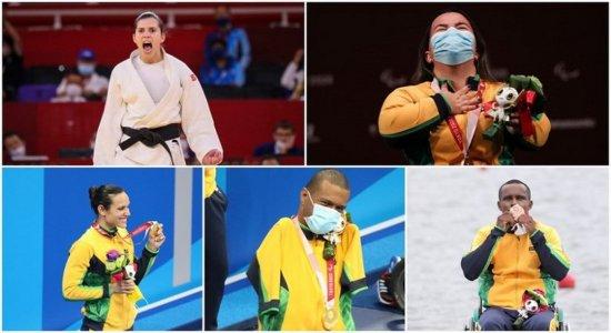 Rumo ao 100º ouro: Brasil vive mais um dia de vitória nas Paralimpíadas, com sete medalhas, de ouro e bronze