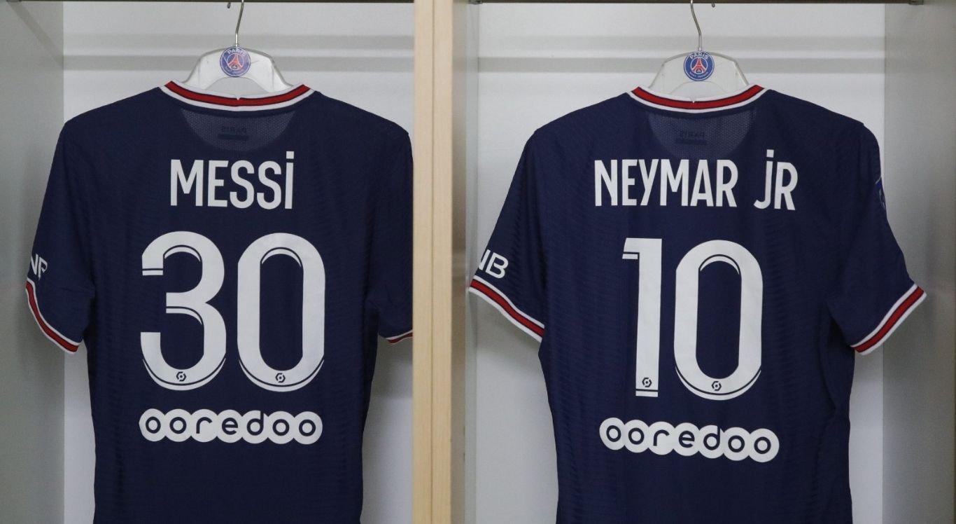 Estreia de Messi com a camisa 30 do PSG