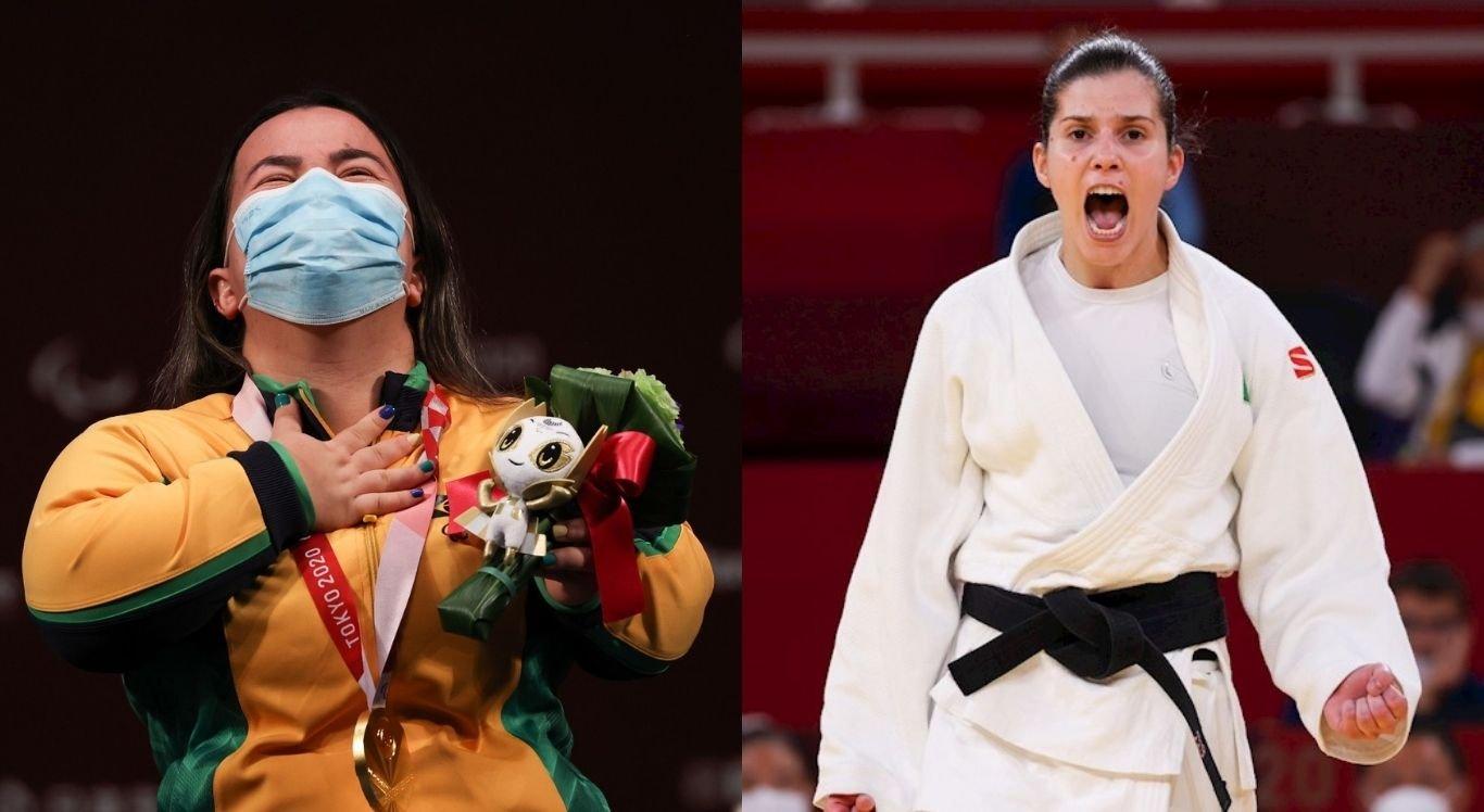 Mariana D'Andrea e  Alana Maldonado conquistaram o ouro neste domingo (29)