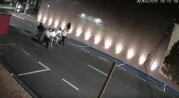 Araçatuba viveu horas de terror na madrugada desta segunda-feira (30)