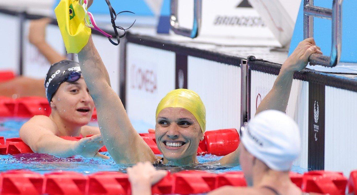Carol Santiago garantiu segunda medalha de ouro em Tóquio