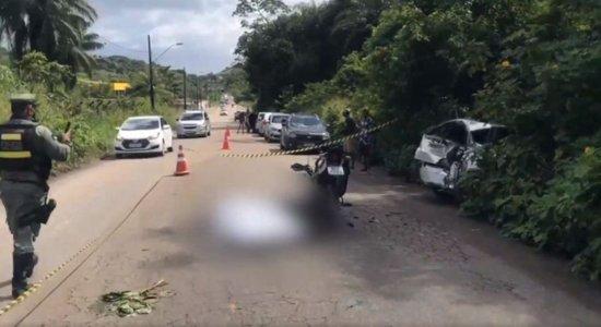Homem morre após acidente de trânsito em Jaboatão dos Guararapes e ser arremessado da moto