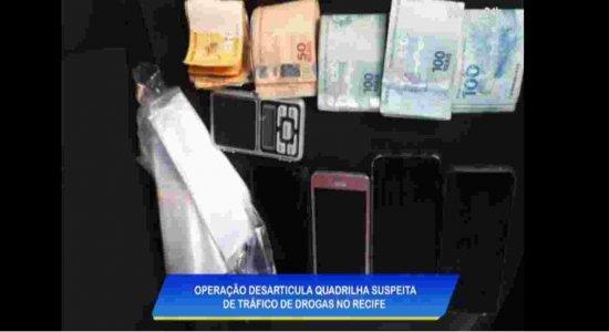 Polícia desarticula quadrilha na Zona Oeste do Recife que era comandada de dentro do presídio