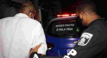 O suspeito de matar uma mulher em Olinda foi preso em flagrante