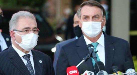 Ministro da Saúde diz que partiu de Bolsonaro orientação para rever vacinação de adolescentes