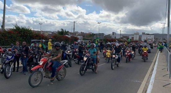 AO VIVO: acompanhe a motociata de Bolsonaro no Agreste de Pernambuco
