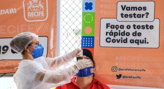 Pernambuco se aproxima de 617 mil casos confirmados da covid-19