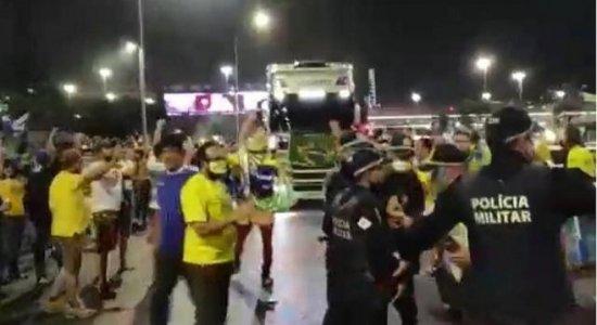 Após quebra de bloqueio na Esplanada dos Ministérios, STF pede reforço da Polícia Federal