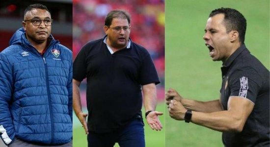 Após Lisca entregar o cargo, diretoria do Vasco busca novo treinador; veja os nomes cotados