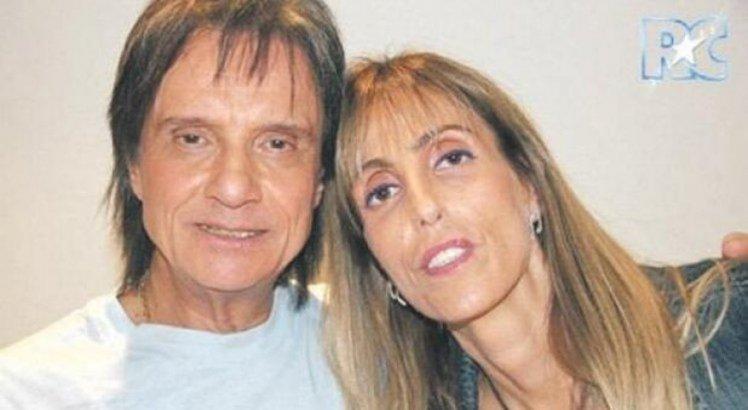Roberto Carlos e Ana Paula, que faleceu em 2011