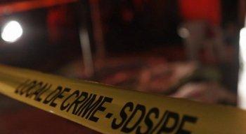 As vítimas do crime tinham marcas de tiros pelo corpo