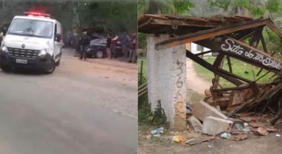 Motorista invade ponto de ônibus e atropela oito pessoas no interior de São Paulo; duas crianças morreram
