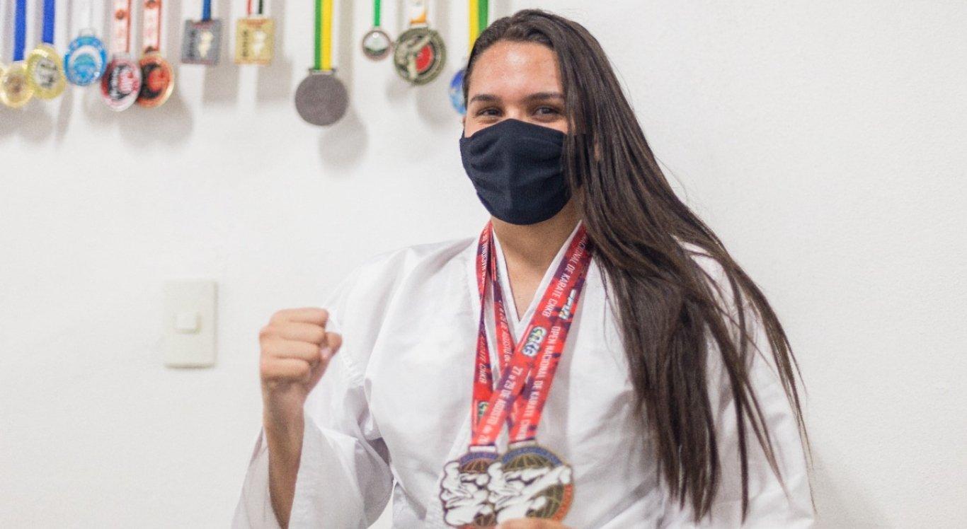 Atleta caruaruense está na final de campeonato nacional de karatê