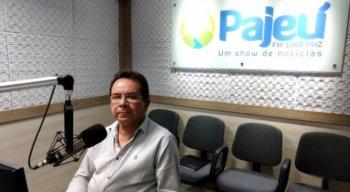 O radialista Anchieta Santos, da Rádio Pajeú, morreu aos 62 anos.