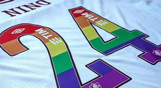 Zagueiro pernambucano usará a camisa 24 em jogo no dia do Orgulho LGBTQIA+