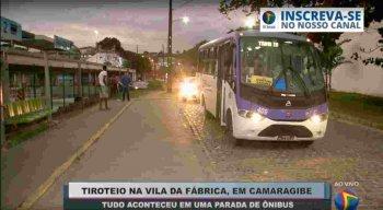 Homem é  atingido por tiro em parada de ônibus em Camaragibe, região metropolitana do Recife