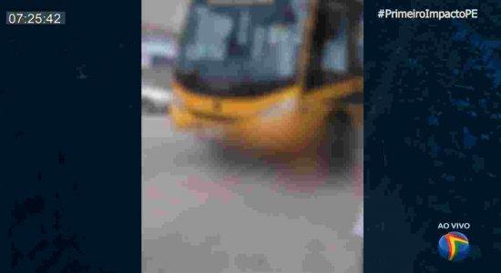 Homem morre atropelado por ônibus escolar no Agreste de Pernambuco