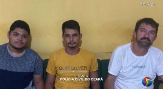Golpe do correspondente bancário em Recife: trio suspeito é preso no Ceará