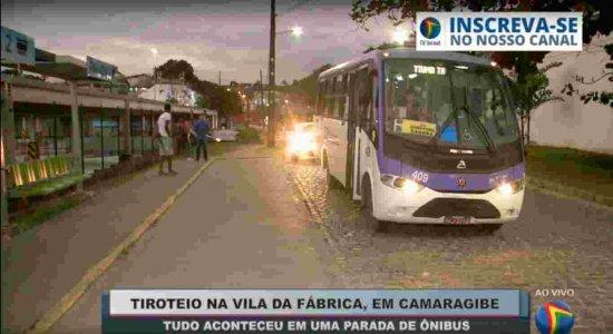 Homem é baleado durante tiroteio em parada de ônibus em Camaragibe