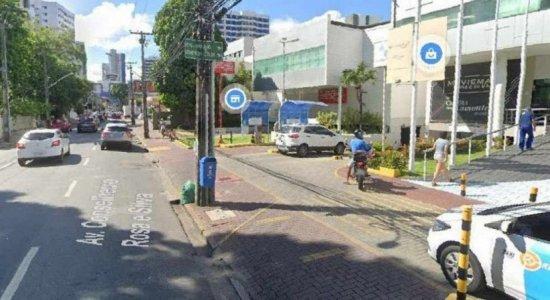 Serviço da Emlurb vai afetar trânsito nas imediações da Av. Rosa e Silva, no Recife, por quase um mês