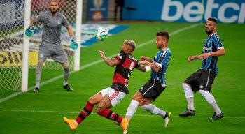 O duelo entre Flamengo x Grêmio pela Copa do Brasil tem presença de torcida no Maracanã.