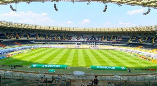 Mosaico no jogo entre Atlético Mineiro x Fluminense pela Copa do Brasil chama atenção; veja imagens