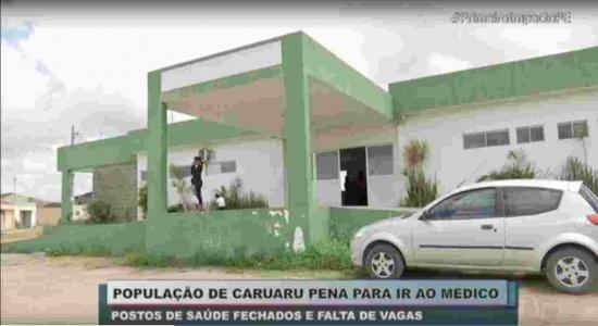 População de Caruaru denuncia postos de saúde fechados e falta de vagas