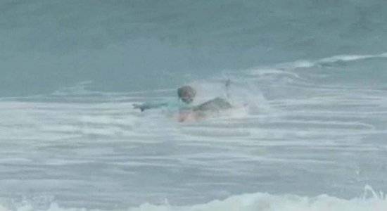 O caso aconteceu na praia de New Smyma, conhecida como