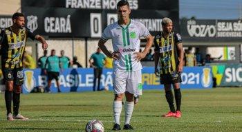Floresta enfrenta o Volta Redonda pela 17ª rodada da Série C.