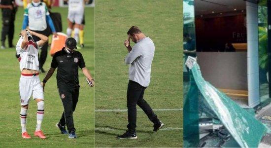 Mais de 40 jogadores contratados, quatro treinadores, ameaças e renúncias: relembre como foi o ano da gestão do Santa Cruz