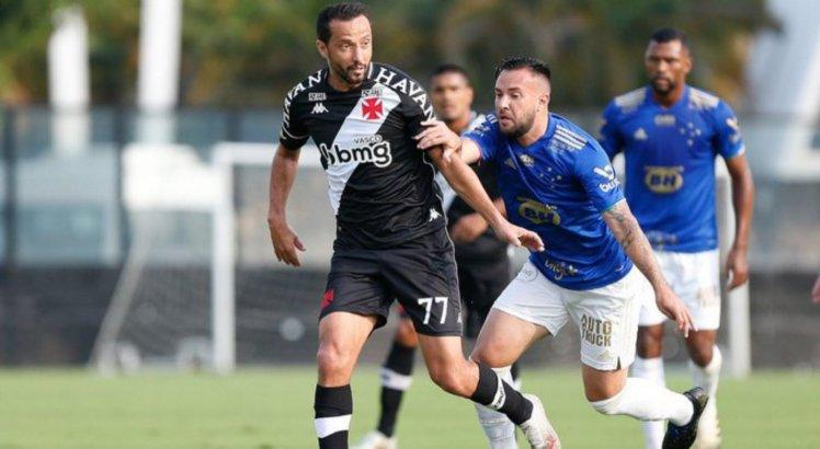 Vasco da Gama e Cruzeiro se enfrentaram pelo Campeonato Brasileiro da Série B