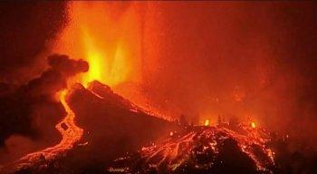 Foi a primeira erupção vulcânica das Ilhas Canárias em 50 anos
