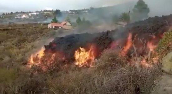 Lava de Vulcão Cumbre Vieja deixa rastro de destruição nas ilhas canárias