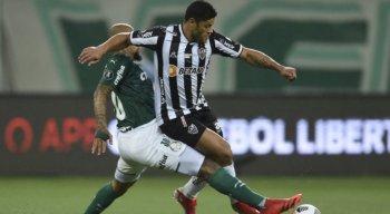 Palmeiras x Atlético-MG: Hulk perde pênalti, e jogo de ida semifinal da Libertadores 2021 termina empatado