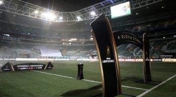 Palmeiras x Atlético-MG se enfrentam no Allianz Parque pela Libertadores 2021.