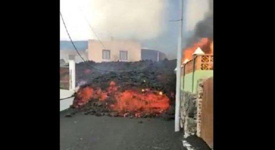 Complexo vulcânico de Cumbre Vieja não entrava em erupção desde 1971