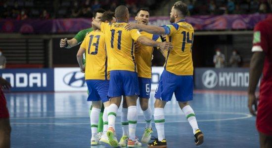 Se perder, está fora: Saiba onde assistir ao vivo Brasil x Japão nas oitavas de final da Copa do Mundo de Futsal da FIFA
