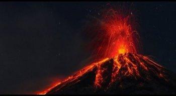 O vulcão é o mais eruptivo da América Central