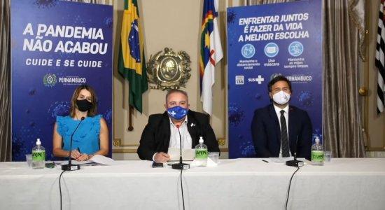 Veja o que muda e o que permanece em Pernambuco a partir da próxima segunda-feira (27) após coletiva do Governo