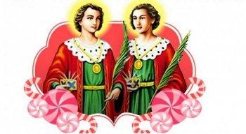 Irmãos gêmeos, médicos, avessos a qualquer tipo de pagamento, Cosme e Damião são santos com devoções bem antigas