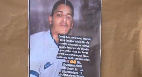 Auxiliar de cozinha é sequestrado de dentro de casa em Olinda; homens encapuzados invadiram a residência e levaram o rapaz